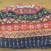 Fair isle small patterns beanie