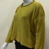 Norna short tunic in sap, knitted in silk/lambswool