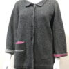 Duet medium jacket in asteria/apollo/rhea , knitted in lambswool/cashmere